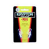 3.6V Kypton Bulb 2 Pack