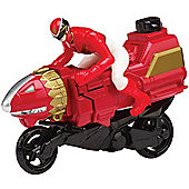 Power Rangers Megaforce Sky Lion Zord Cycle with Red Ranger