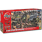 Airfix A50162 D-Day Operation Overlord Gift Set 1:72 Military Model Kit