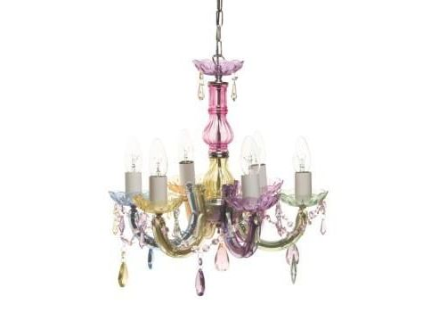 Aimbry desire chandelier, small, multi coloured
