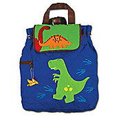 Children's Blue Dinosaur Backpack