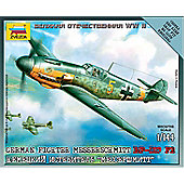 Zvezda - German Fighter Messerschmitt BF-I09 F2 1:144 6116