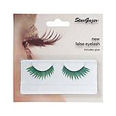 Stargazer False Feather Eyelashes No.51 Green and Blue Jagged Edge