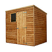 7x5 Overlap Pent Shed