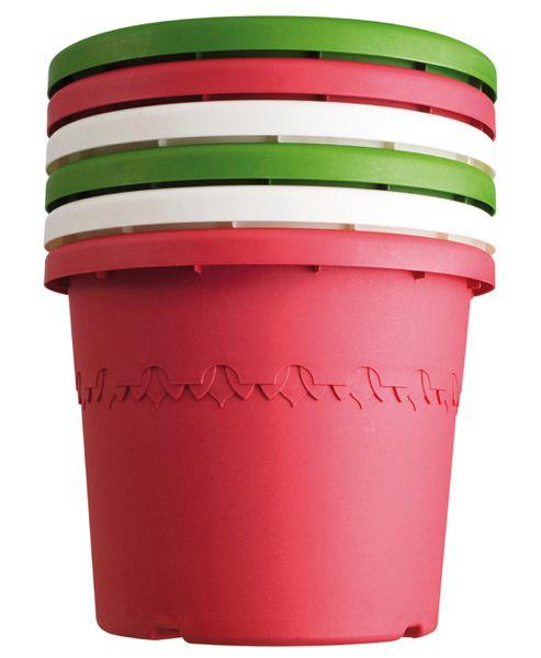 Patio plastic pot