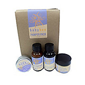 Baby Bee Pamper Pack - Natural Start Care Pack For All Babies And New Mums