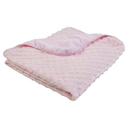 Tesco Popcorn Blanket, Pink