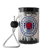 Rangers F.C Official Golf Tee Shaker With Tees