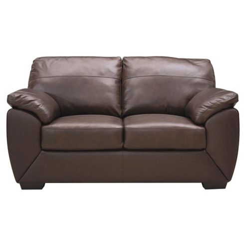 Buy Alberta 2 Seater Leather Sofa Chocolate From Our