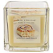 Wax Lyrical Iced Cinnamon Buns Filled Candle