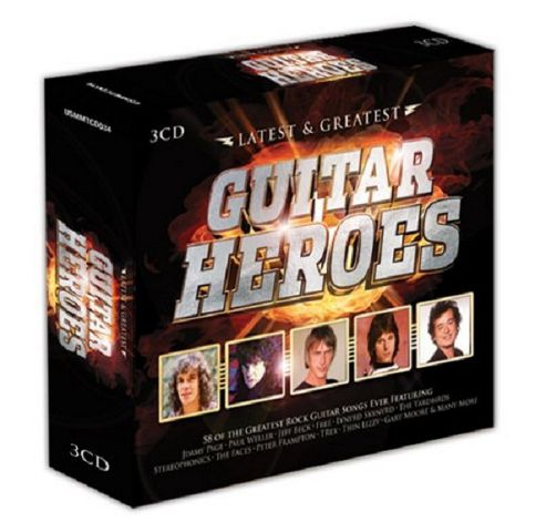 Latest & Greatest Guitar Heroes (3Cd)