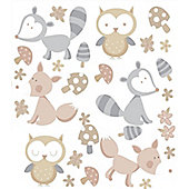 Forest Friends Stickers - Neutral