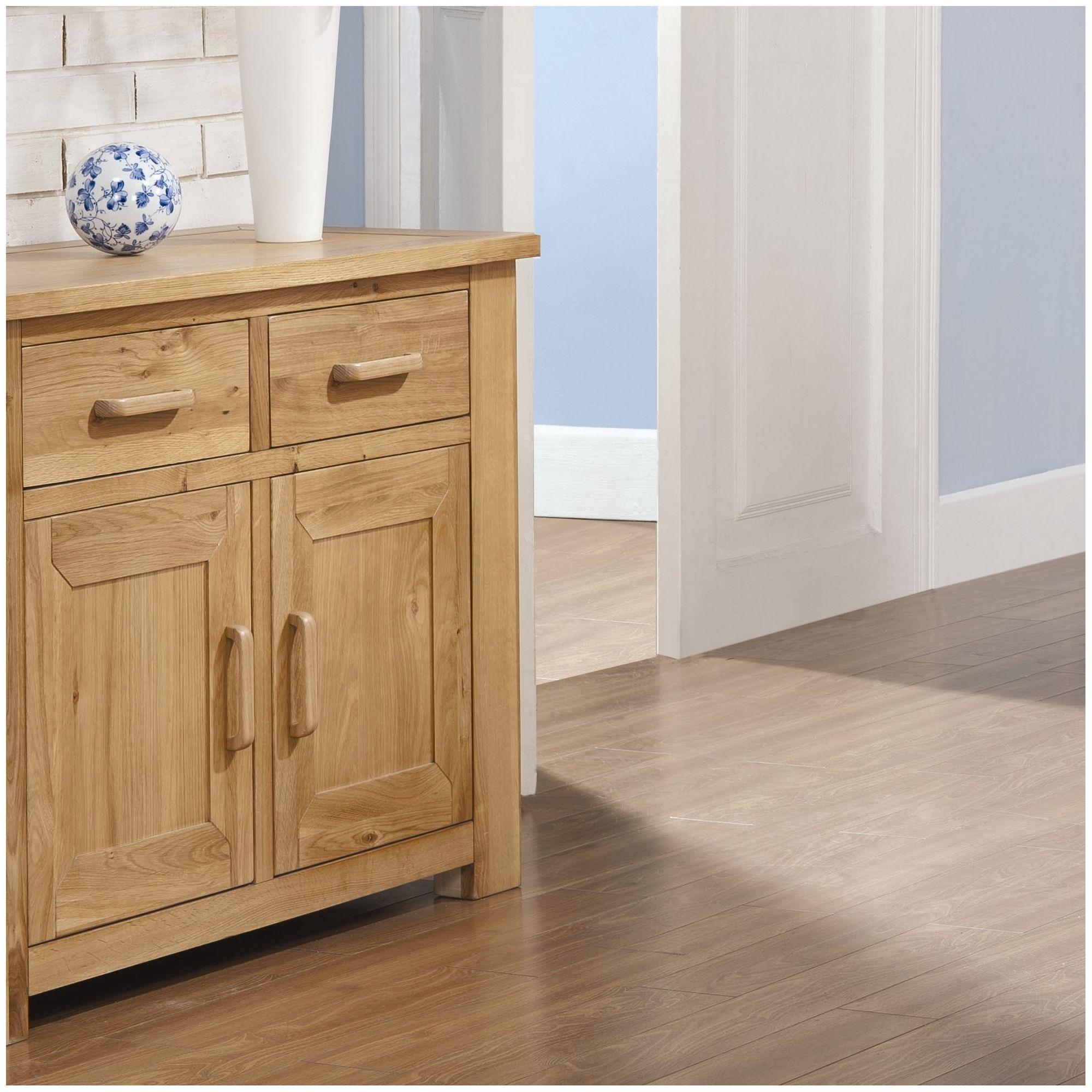 Alterton Furniture Wiltshire Oak Mini Sideboard at Tesco Direct