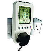 Mains or Battery Energy Monitor with Built-in Timer