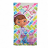 Disney Doc Mcstuffins 'All Better!' Printed Beach Towel