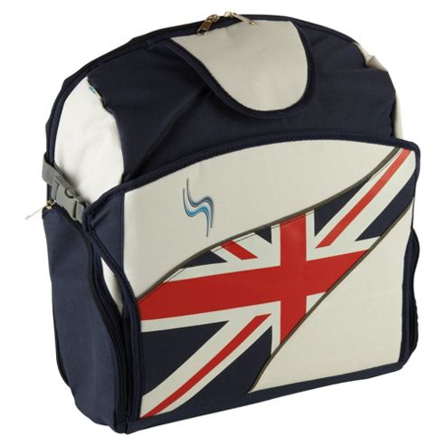 SitNSee - Stadium Booster Seat/Back Pack - Union Jack