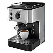 Russell Hobbs 18623 Espresso Coffee Machine - Stainless Steel & Black