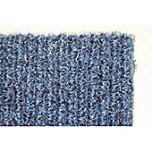 Dandy Stayfast Blue Runner Contemporary Rug - Runner 60cm x 300cm