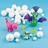 Polystyrene Ball Value Pack Kids (Pack of 36)