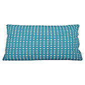 In The Mood Collection© Double Dots Cushion Cover - Aqua