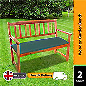 BillyOh Windsor Traditional Wooden Garden Bench 2 seater