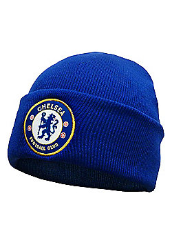 Chelsea FC Knitted Hat - Royal blue