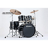 Tama Imperialstar Hairline Black 22 Bass Drum 10, 12, Toms 14 Floor Tom, Inc Hardware