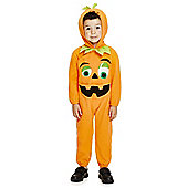 F&F Halloween Pumpkin Dress-Up Costume - Orange