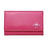 Personalised Pink Crown Purse