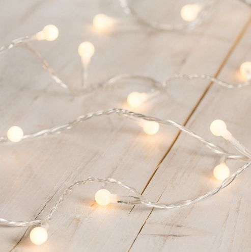 Buy 40 Warm White Led Indoor Berry Fairy Lights From Our