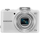 "Samsung WB50F Smart Digital Camera, White, 16.2MP, 12x Optical Zoom, 3"" LCD Screen, Wi-Fi"