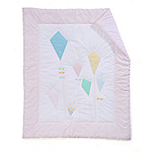 Mothercare Butterfly Fields Cot Bed Quilt
