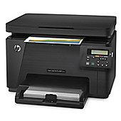 HP LaserJet Pro M176n (A4) Colour Laser Multifunction Printer (Print/Copy/Scan) 128MB (Black)