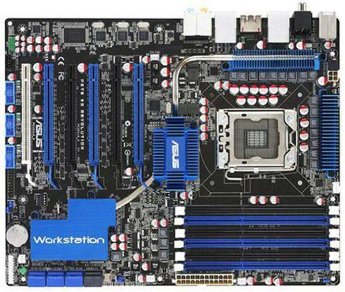 Asus P6T WS Professional Montherboard LGA1366 ATX RAID SATA Gigabit LAN