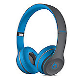 Beats by Dr. Dre Solo2 Active Collection Wireless Headphones - Flash Blue