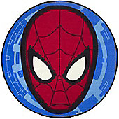Spiderman Round Bedroom Rug