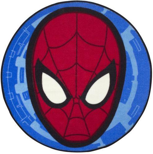 buy spiderman face bedroom rug from our rugs range tesco childrens kids spiderman bedroom floor rug mat