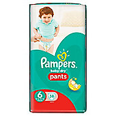 Pampers Baby Dry Pants Size 6 Large 38