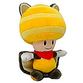 "Official Nintendo Mario Plush Stuffed Toy - 6"" Flying Squirrel Toad Yellow"