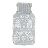 Linea Scandi Hot Water Bottle Grey