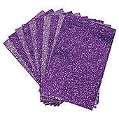 Glitter Pad Violet 10 Sheets