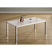 Home Essence Boston Coffee Table in White