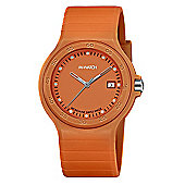 M-Watch Maxi Colour Unisex Resin Day & Date Watch A661.30615.35.01