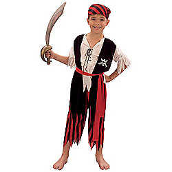 Pirate boy - Child Costume 7-9 years