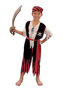 Pirate boy - Child Costume 7-9 years