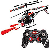 Bladez Target - Remote Control Helicopter with Electronic Missile Launcher