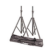 Twin Speaker Stands and Carry Bag