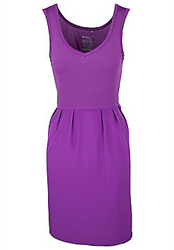 Holiday Womens Dress - Purple
