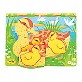 Bigjigs Toys BB013 Chunky Puzzle Duck and Duckling