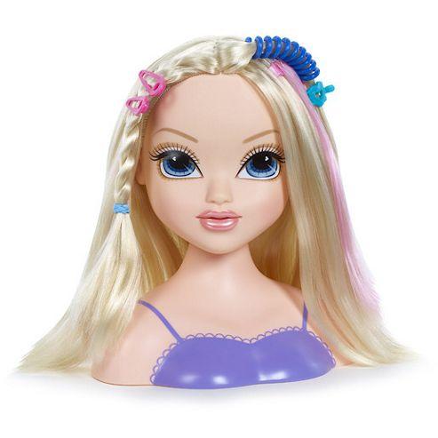Moxie Girlz Magic Hair - Avery Styling Head